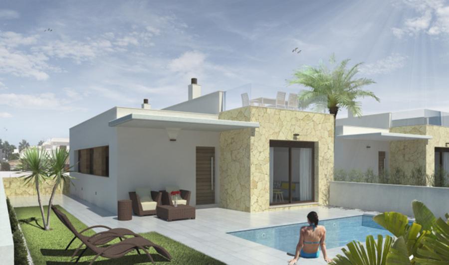 2 BEDROOM VILLA IN PUEBLO BRAVO, ROJALES, ALICANTE.  This property is in a new complex composed of ,Spain