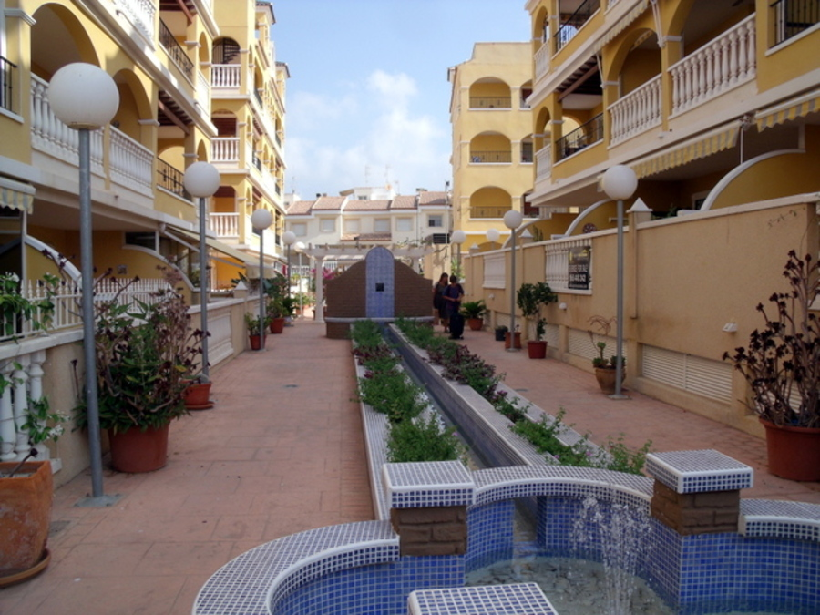 1ST FLOOR 2 BEDROOM APARTMENT IN ALGORFA, ALICANTE.  Very well presented west facing apartment on a,Spain