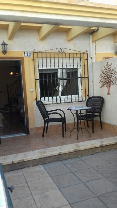 2 BEDROOM TOWNHOUSE IN MONTEMAR, ALGORFA.  Town house in Algorfa located across the road from La Fi,Spain