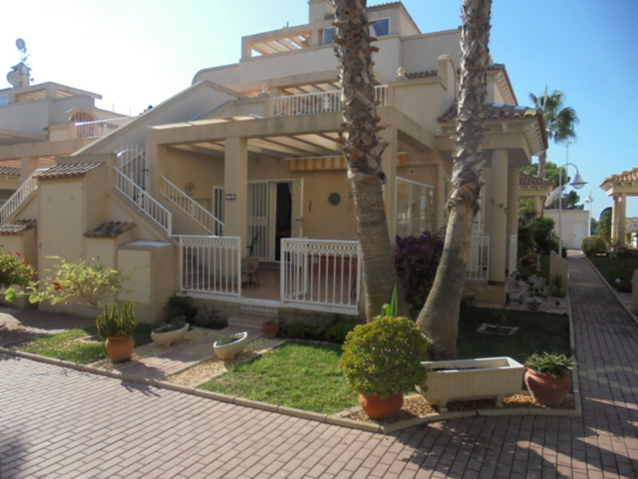 BEAUTIFUL GROUND FLOOR BUNGALOW IN MIRA FLORES IV, ORIHUELA COSTA.  	It is situated in a beautiful t, Spain