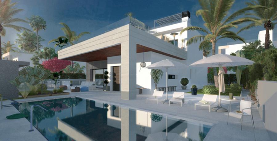 3 BEDROOM VILLA IN ORIHUELA COSTA, ALICANTE.  Zeniamargolf, a fantastic project that combines desig,Spain
