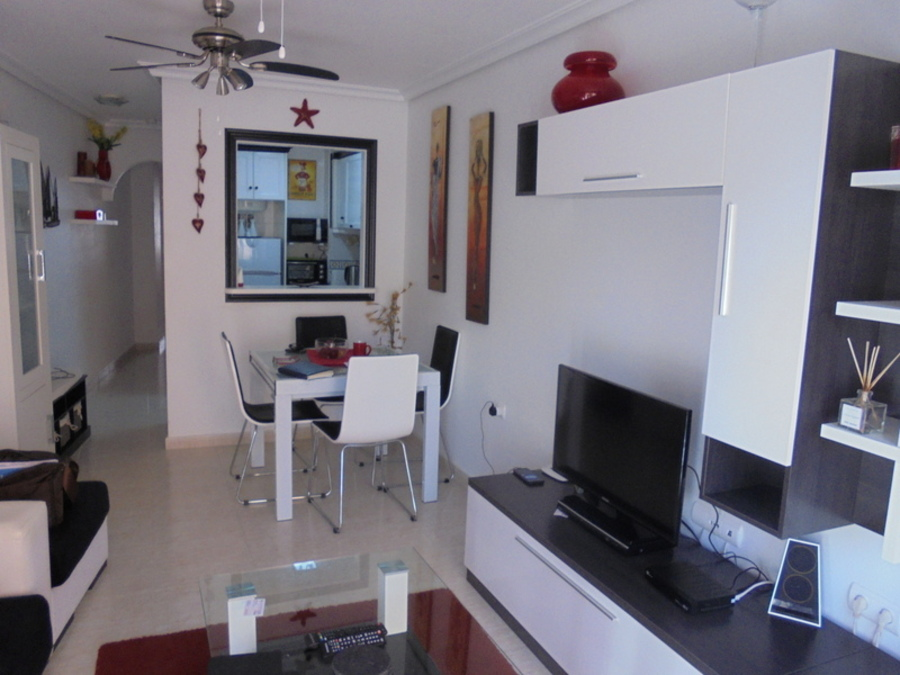 BRIGHT MODERN FURNISHED APARTMENT BY LOS LOCOS BEACH, TORREVIEJA  	   	Beautiful apartment in a rela, Spain
