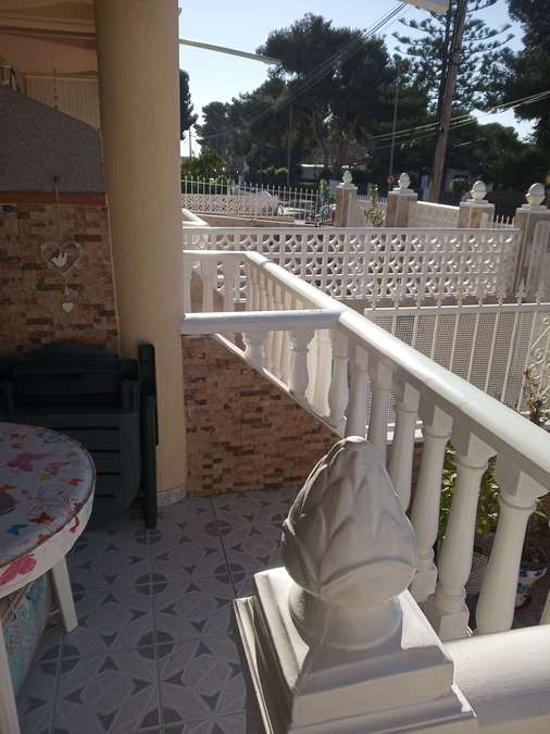A lovely townhouse situated just 300 metres from the beach in Santiago de Ribera, mar menor.  	Large, Spain