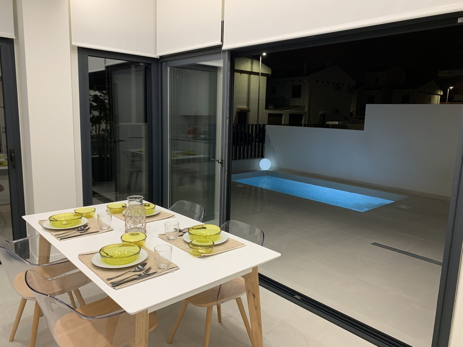 LUXURY DETACHED VILLA IN SAN JAVIER, MAR MENOR     The property is situated in the lovely town of ,Spain