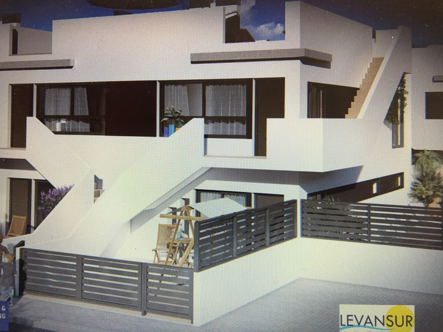 Residencial Levansur Home One is a luxury complex of 11 modern 2 bedroom/2 bathroom apartments with , Spain