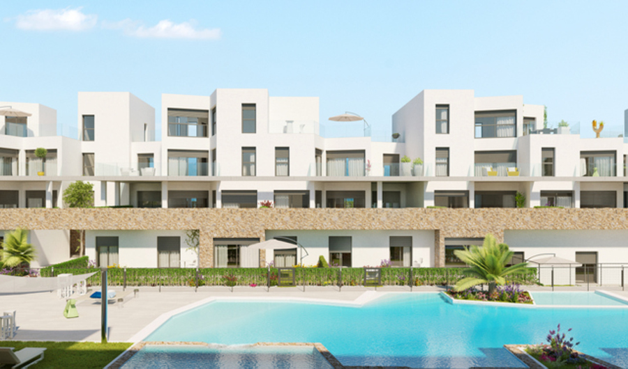 LUXURY 2 BEDROOM APARTMENT IN VILLAMARTIN GOLF, ORIHUELA COSTA.  	This modern style property is situ, Spain