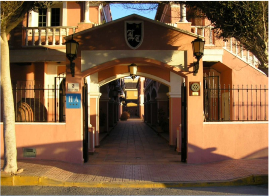 BEAUTIFUL BEACH FRONT HOTEL IN LA MATA, TORREVIEJA.  	The Hotel Lloyds Club is located right on the , Spain