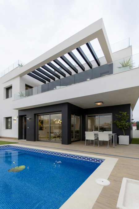 LUXURY 3 BEDROOM DETACHED VILLA IN VILLAMARTandIacute;N, ORIHUELA COSTA 	 		This new built  luxury v, Spain