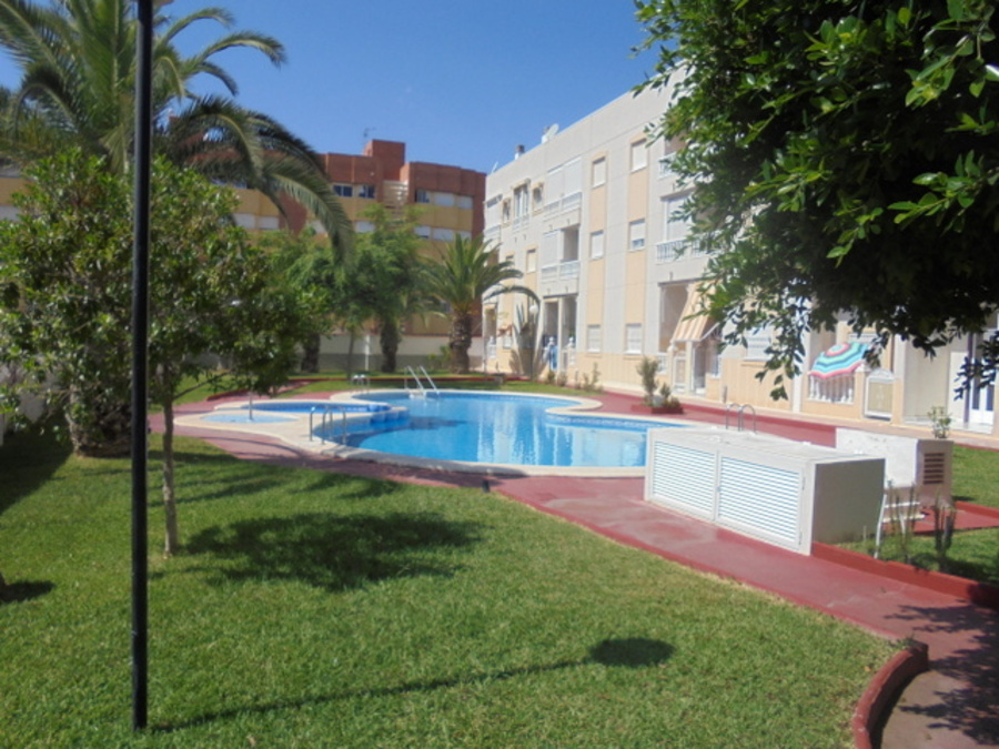 TOWN CENTRE 1 BEDROOM APARTMENT WITH COMMUNAL POOL, TORREVIEJA.  	It is 5 minutes walk to Mercadona , Spain