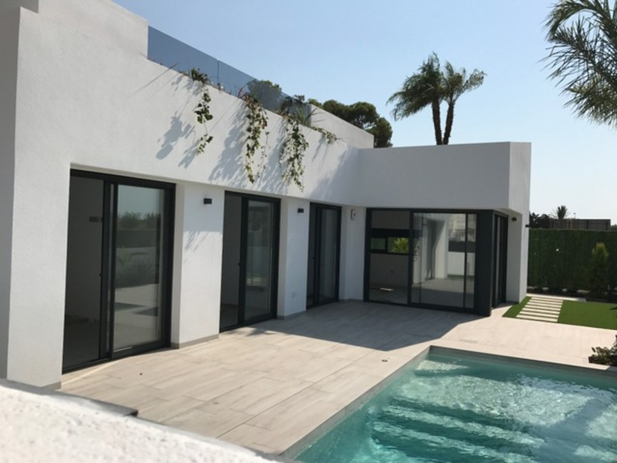 LUXURY 3 BEDROOM DETACHED VILLA IN SANTIAGO DE LA RIBERA, SAN JAVIER, MURCIA.  	Stunning detached vi, Spain