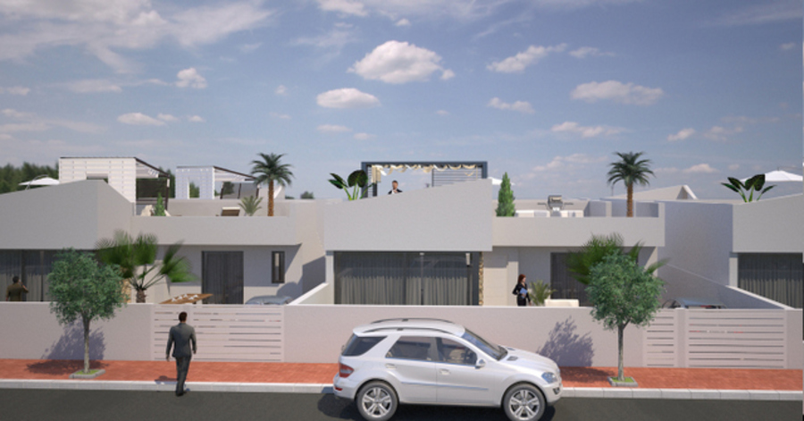 MODERN 3 BEDROOM DETACHED VILLA IN SAN JAVIER, MURCIA.  	This property is a modern detached villa wi, Spain