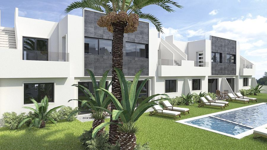 LUXURY 2 BEDROOM BUNGALOW IN SAN PEDRO DEL PINATAR, MURCIA.  	Modern and luxury bungalow in a comple, Spain